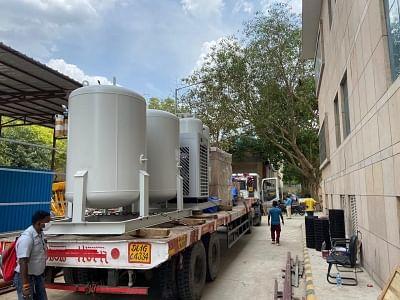 डीआरडीओ ने दिल्ली, हरियाणा में 5 मेडिकल ऑक्सीजन प्लांट लगाना शुरू किया