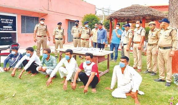 खेडी खुर्द गोलीकांड में छह आरोपी गिरफ्तार