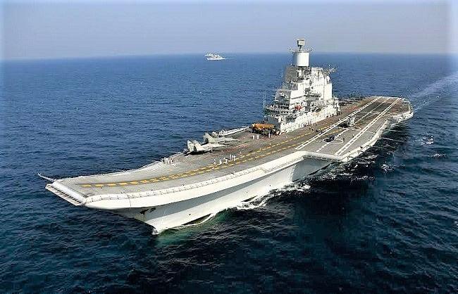 आईएनएस विक्रमादित्य में लगी आग, नौसेना ने दिए जांच के आदेश