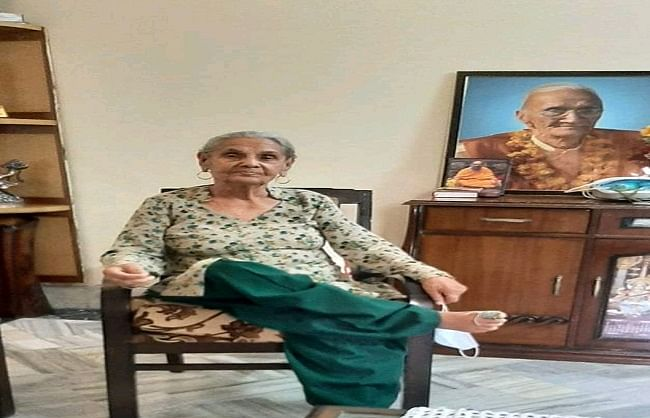 प्रेरणा: पूर्व महापौर की 84 वर्षीय मां ने योग से दी कोरोना को मात