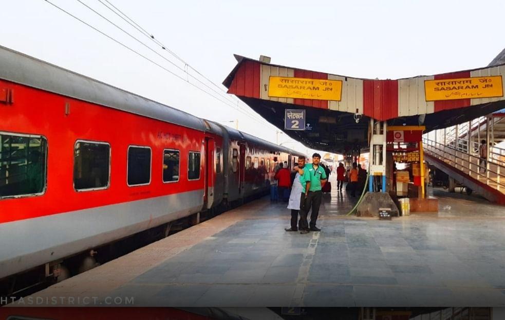 कोरोना के खतरे को रोकने के लिए रेलवे ने आरा,सासाराम और डेहरी स्टेशनों से गुजरने वाली कई ट्रेंनो का परिचालन किया बन्द