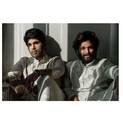 अल्लू अर्जुन ने बर्थ डे नोट में भाई को अपना सबसे बड़ा मोरल सर्पोट बताया
