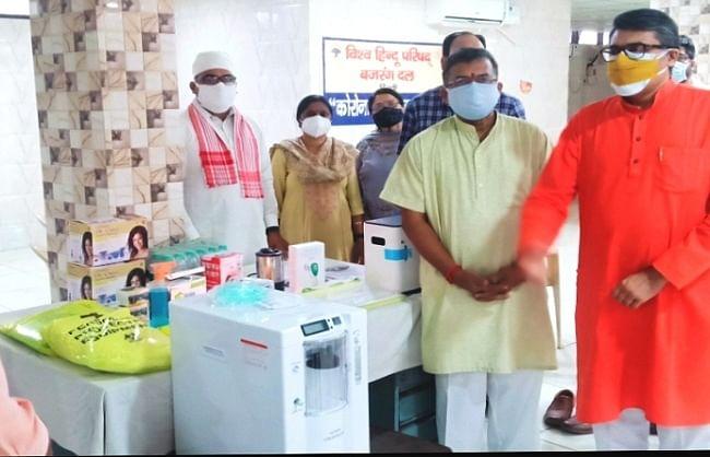 दिल्ली में विहिप का एक आइसोलेशन सेंटर शुरू, 29 और खोलने की तैयारी