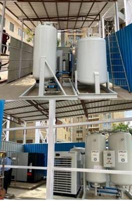 भारतीय अस्पतालों को अब अपने लिए स्थायी ऑक्सीजन संयंत्रों की जरूरत
