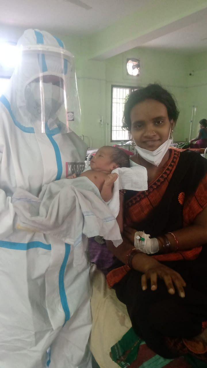 raipur-corona-infected-woman-gives-birth-to-healthy-baby-girl