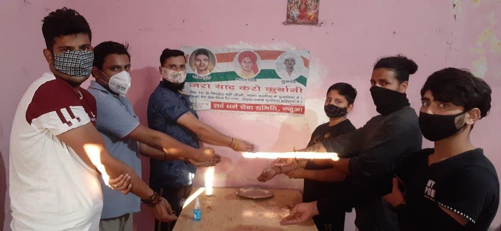 शहीद सुखदेव जी के जन्मदिवस पर सर्व धर्म सेवा समिति ने श्रद्धांजलि अर्पित की