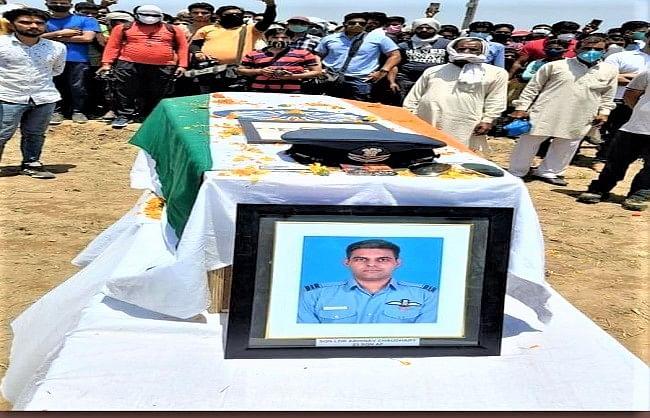 final-farewell-to-mig-bison-martyr-pilot-abhinav-chaudhary
