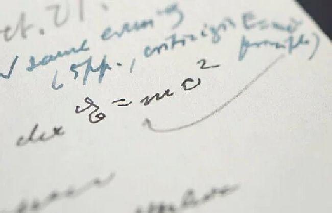 आइंस्टीन का हस्तलिखित पत्र 8.75 करोड़ रुपये में बिका