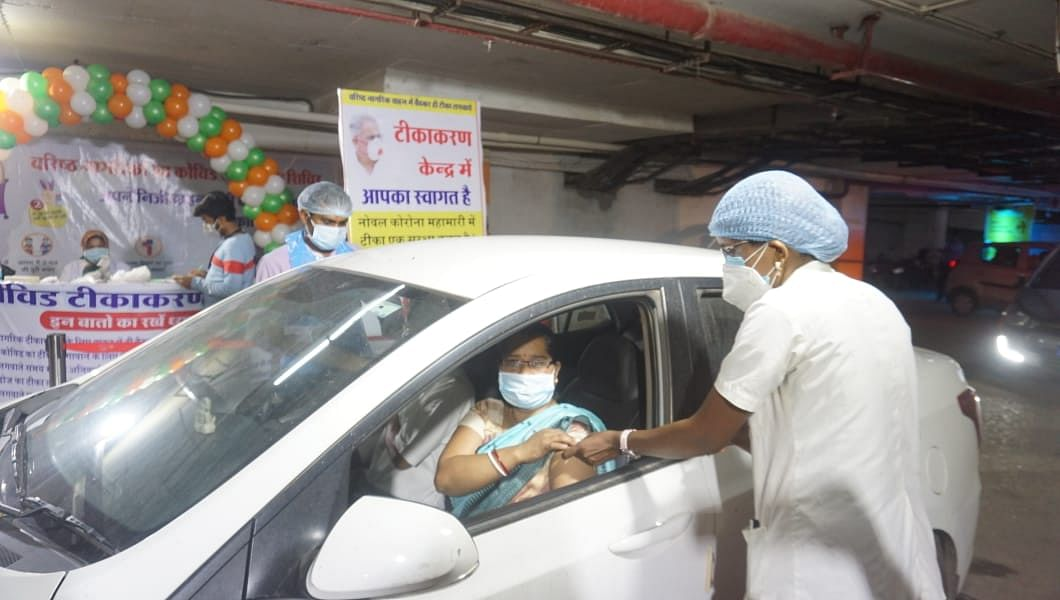 durg-drive-in-vaccination-facility-for-senior-citizens