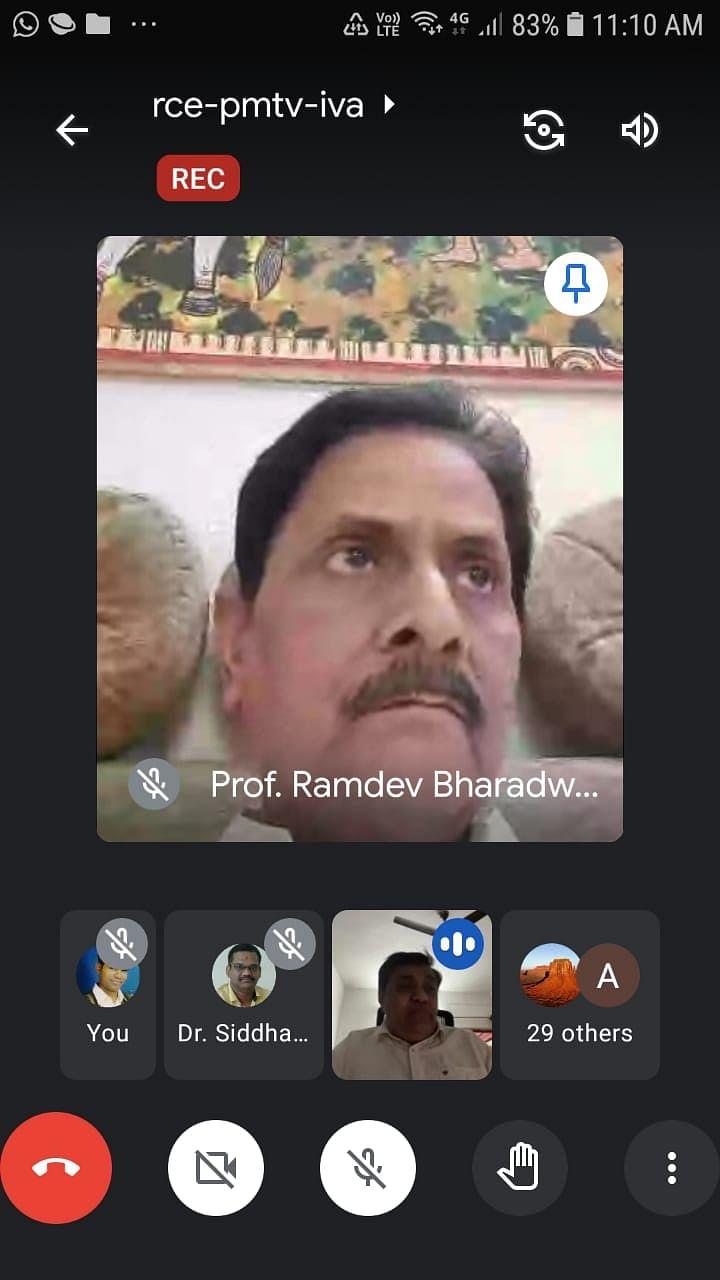 प्रो. शुक्ल का इस तरह जाना अकादमिक जगत के लिए अपूर्णीय क्षति : कुलपति प्रो.रामदेव