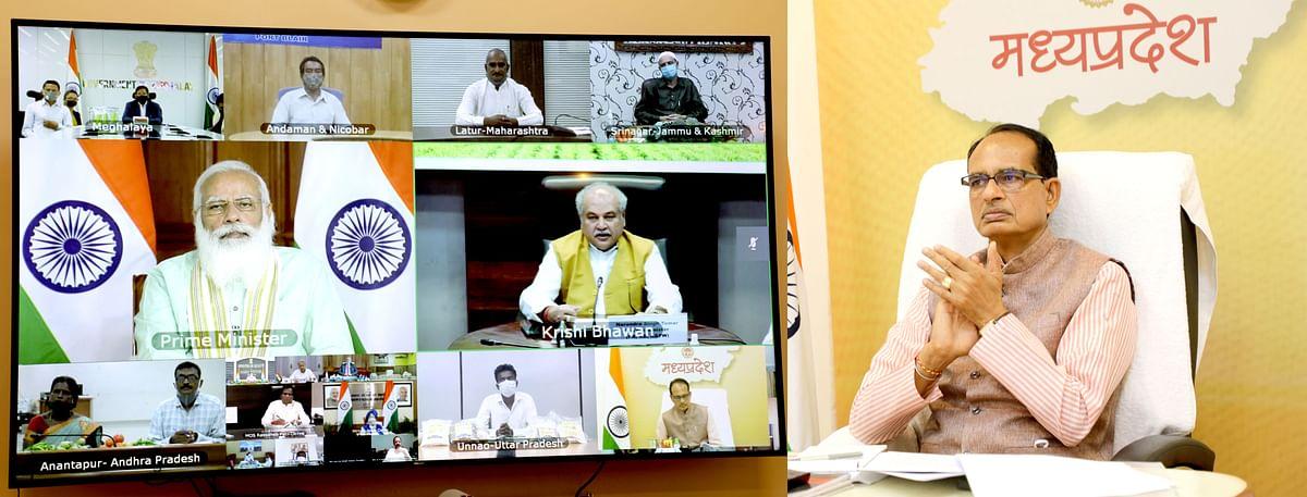 शिवराज ने माना प्रधानमंत्री मोदी का आभार, किसानों के खातों में 19 हजार करोड़ रुपये भेजे गए