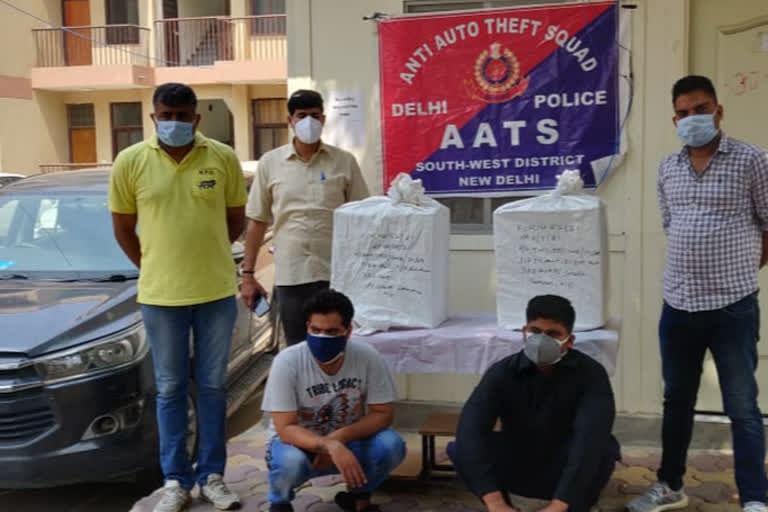 दवाओं की ब्लैक मार्केटिंग कर रहे दो आरोपित गिरफ्तार