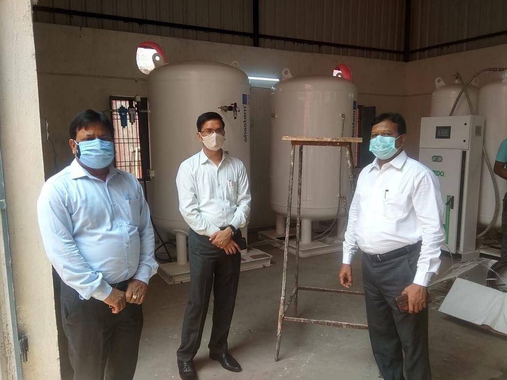 मीरजापुर : मरीजों को जल्द समर्पित होगा ऑक्सीजन जनरेटर प्लांट