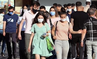तुर्की में कोरोना के 28,997 नए मामल