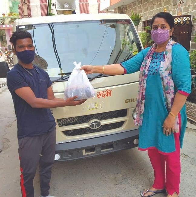 भारत विकास परिषद ने मनाया श्रमिक दिवस