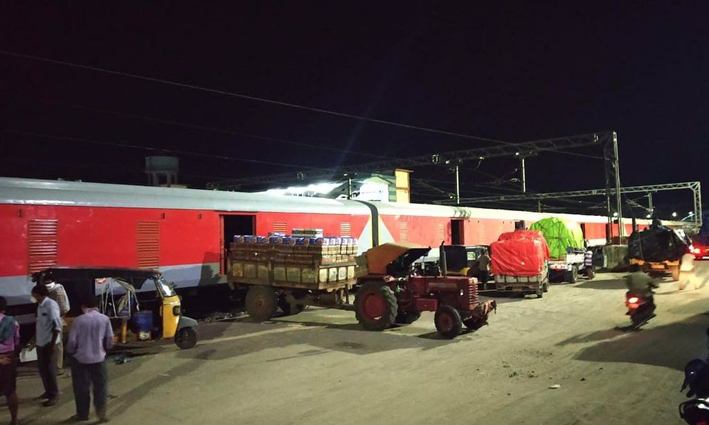 किसान रेल से दिल्ली पहुंचेगा दक्षिण का 544 टन आम