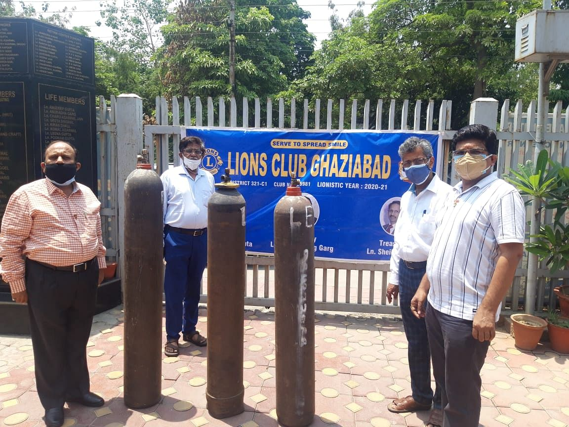 कोरोना पीड़ितों के लिए लायंस क्लब ने शुरू किया ऑक्सीजन बैंक