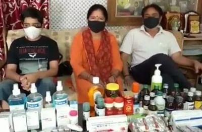 उत्तर प्रदेश में कोविड पीड़ितों के परिवार ने फ्री मेडिसिन बैंक की स्थापना की