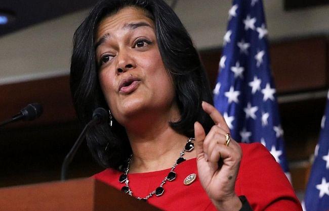कोरोना के खिलाफ लड़ाई में भारत की मदद करना अमेरिका की नैतिक जिम्मेदारी : प्रमिला