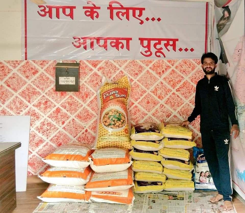 गरीबों को एक सप्ताह का राशन और बच्चों के लिए दूध उपलब्ध कराएंगे पुटुस