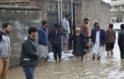 अफगानिस्तान में बाढ़ से 12 लोगों की मौत