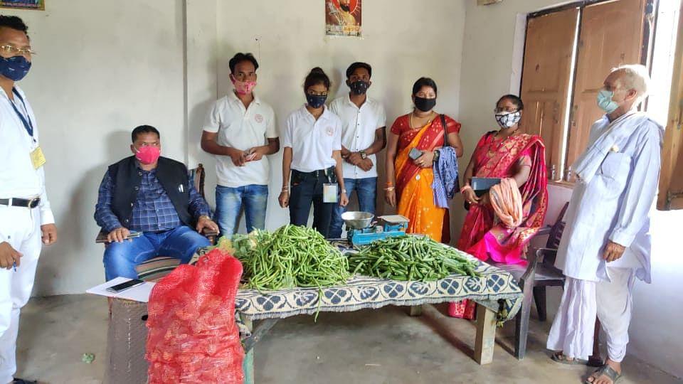 कोंडागांव: कांग्रेस सेवादल के सब्जी बैंक का शुभारंभ किया विधायक संतराम नेताम ने