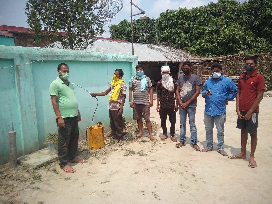 ग्रमीणों ने स्थगित किए सभी कार्यक्रम, बिना जांच गांव में नहीं कर सकते एंट्री