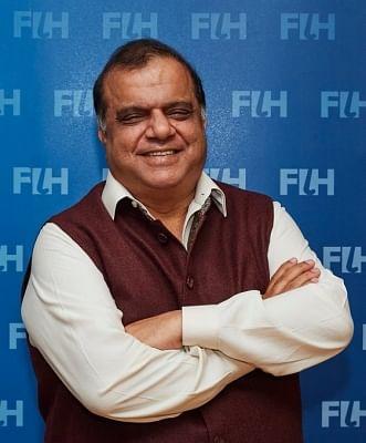 बत्रा लगातार दूसरी बार बने एफआईएच के अध्यक्ष