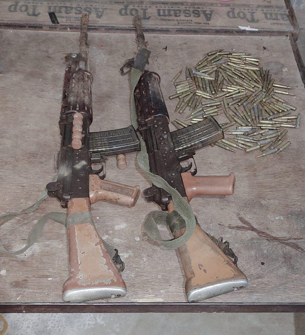 टीपीसी के चार उग्रवादी गिरफ्तार, हथियार भी बरामद