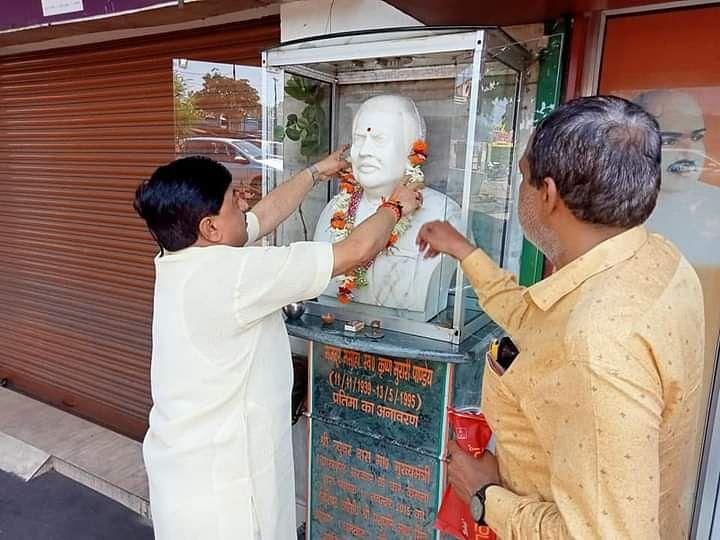 मजदूर नेता स्वर्गीय कृष्ण मुरारी पांडेय की मनाई गई पुण्यतिथि