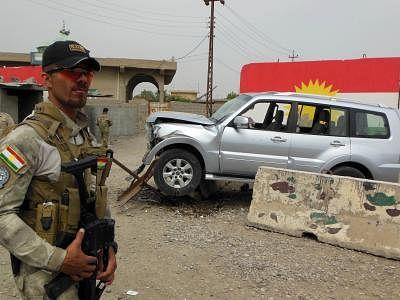 आईएस के तीन नेता बगदाद के पास मारे गए