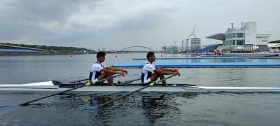 रोवर्स ने लाइटवेट डबल स्कल इवेंट के लिए ओलंपिक कोटा हासिल किया