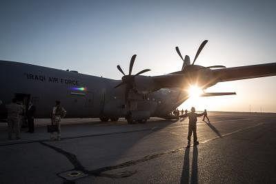 इराकी एयर बेस से हटे अमेरिकी सैन्य विशेषज्ञ