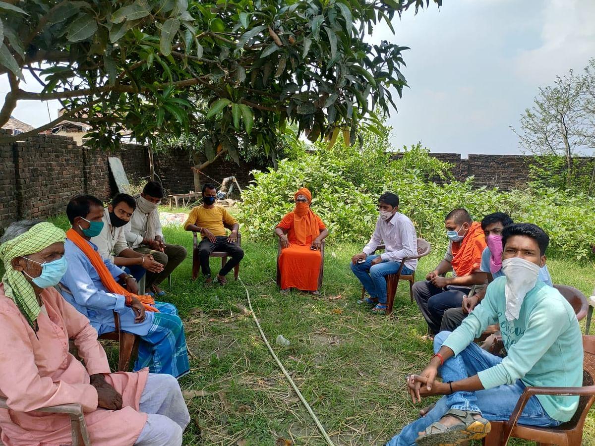 यौगिक हवन करके बगहा के गांवों को सेनीटाइजरेशन किया जायेगा - विश्व हिन्दू परिषद संरक्षक