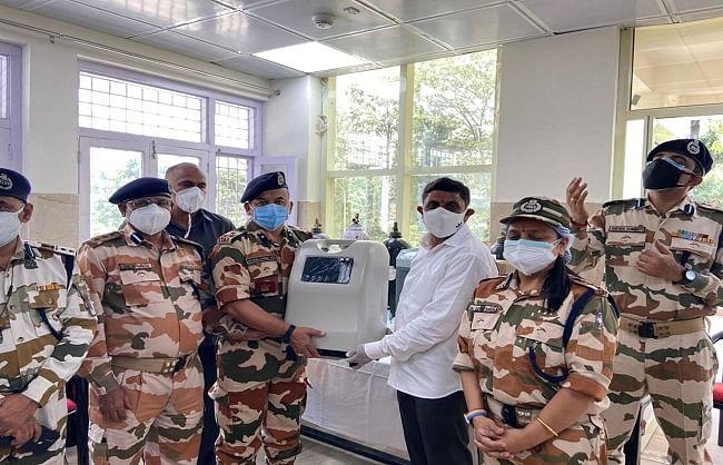आईटीबीपी परिसर में 20 बेड का ऑक्सीजन कोविड अस्पताल तैयार