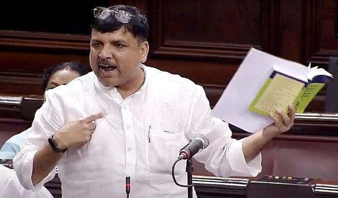 AAP नेता संजय सिंह का दावा, विधानसभा चुनाव में ढह जाएगा भाजपा का किला