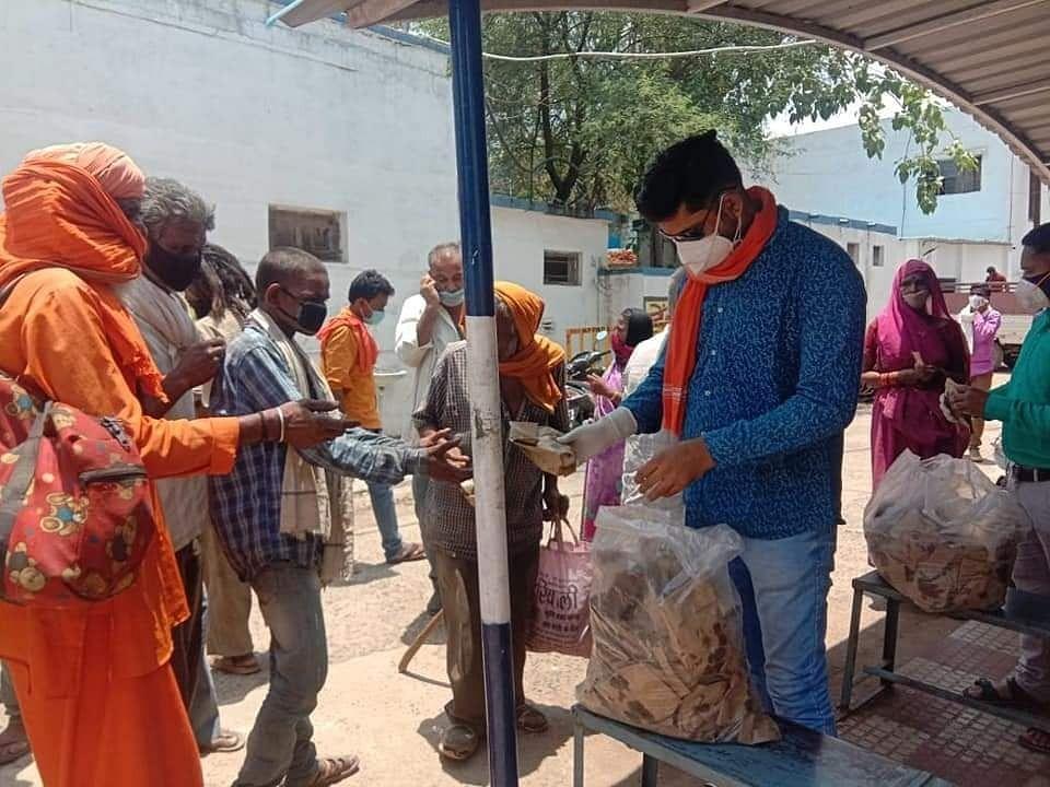 प्रदेश भर में भाजपा कार्यकर्ता आमजनों की कर रहे सेवा (दो)