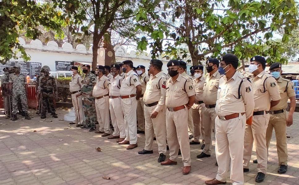 धमतरी:66 पुलिस अधिकारी-कर्मचारियों कोरोना संक्रमित
