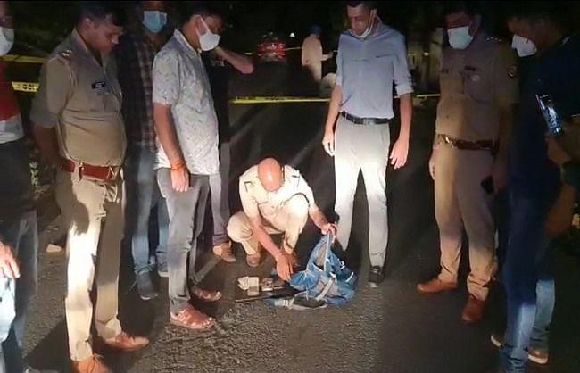 आगरा : चिकित्सक के घर दिनदहाड़े लूट के आरोपी पुलिस मुठभेड़ में गिरफ्तार
