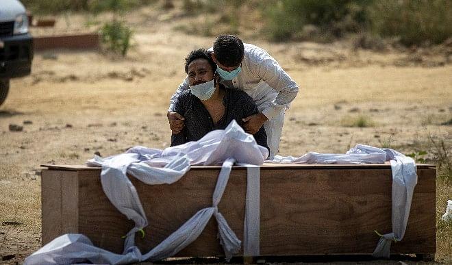 देश को डरा रहा है कोरोना का आकड़ा! 24 घंटे में 4,14,188 नये मरीज, 4000 लोगों की मौत