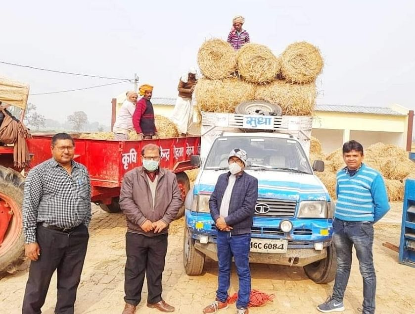 agricultural-science-center-of-rohtas-linked-straw-with-farmers39-income