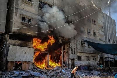 सुरक्षा परिषद ने इजरायल- फिलिस्तीन हिंसा समाप्त करने की अपील की (लीड-1)