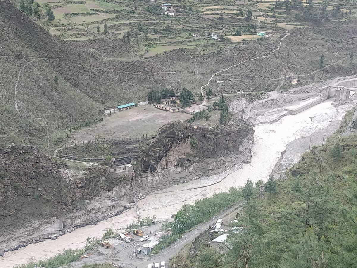 भंग्यूल के ग्रामीणों बैराज के ऊपर से गुजरने की अनुमति
