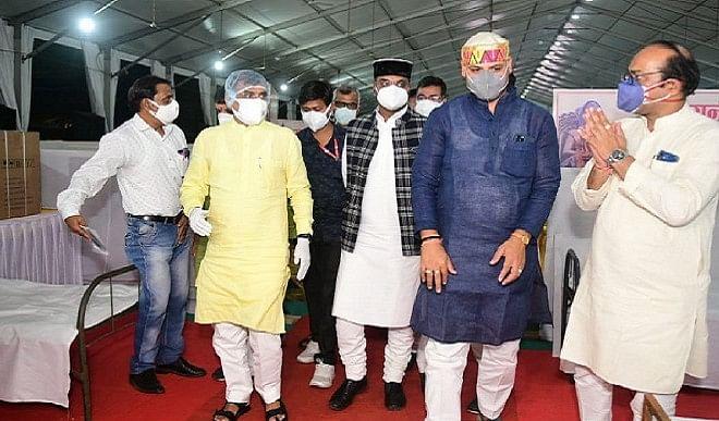 कोरोना संक्रमण की चेन तोड़ने में सार्थक सिद्ध होगा माधव सेवा केंद्रः विष्णुदत्त शर्मा