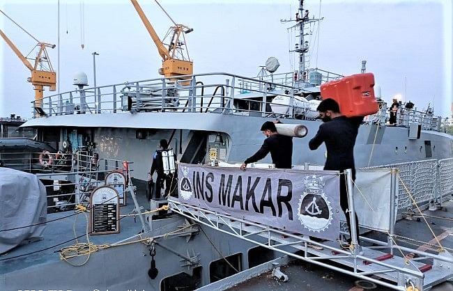 मुंबई तट पर डूबे जहाज के 60 शव मिले, 15 कर्मचारी अभी लापता