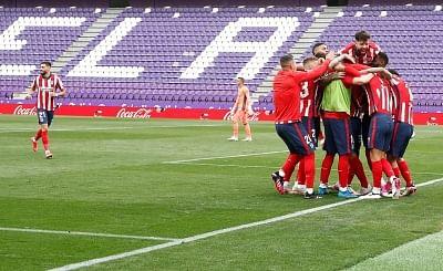 फुटबाल : एटलेटिको मैड्रिड ने 11वीं बार जीता ला लीगा खिताब
