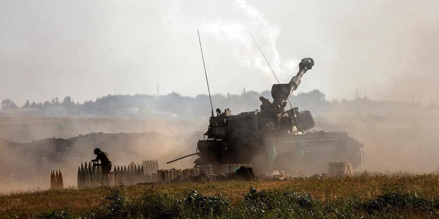 इजराइल की ओर से किए गए हवाई हमलों में गाजा की सुरंग नष्ट