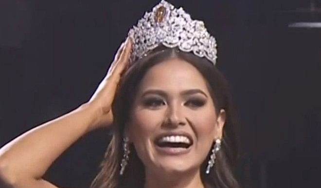 मैक्सिको की एंड्रिया मेज़ा ने 69वीं मिस यूनिवर्स का ताज पहना, मिस ब्राजील को दिया शिकस्त