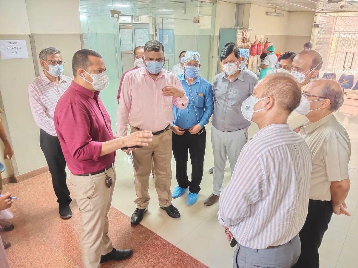 कोविड की तीसरी लहर में जीएसवीएम में बढ़ेगें दो सौ बिस्तर, परीक्षण क्षमता में होगी बढ़ोत्तरी