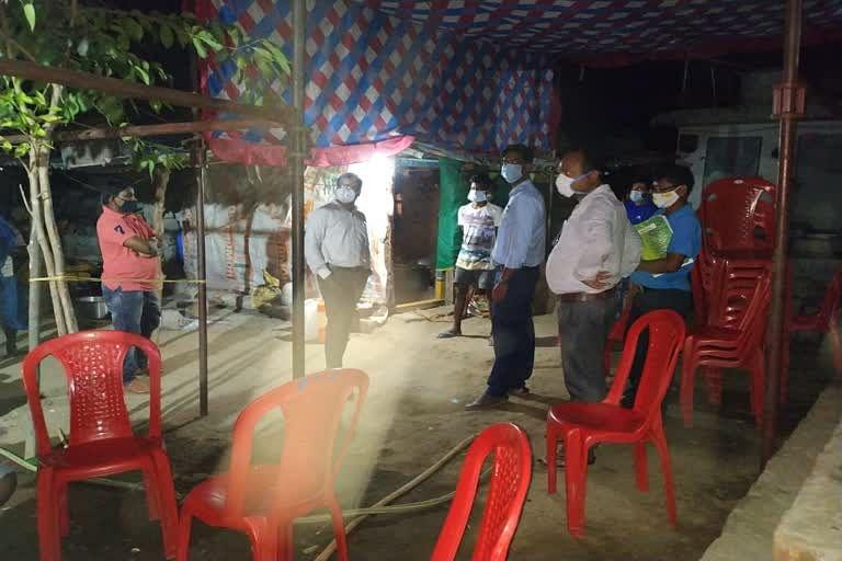 बीजापुर : वैवाहिक कार्यक्रम में लॉकडाउन के उल्लंघन पर हुई कार्रवाई